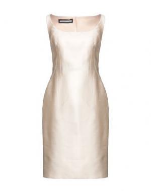Платье до колена AQUILANO-RIMONDI. Цвет: слоновая кость