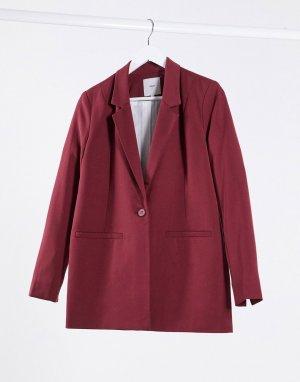 Пиджак прямого кроя -Коричневый Minimum