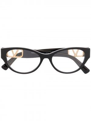 VALENTINO EYEWEAR 0VA3042500153 5001 BLACK Leather/Fur/Exotic Skins->Leather. Цвет: черный