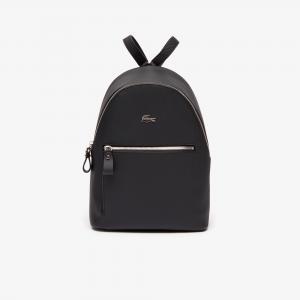Рюкзак DAILY CLASSIC Lacoste. Цвет: черный