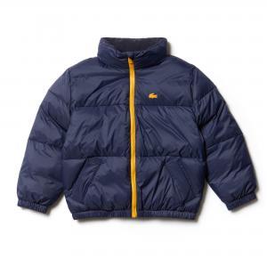 Куртка Lacoste. Цвет: синий