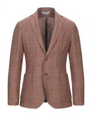 Пиджак BOTTEGA MARTINESE. Цвет: кирпично-красный