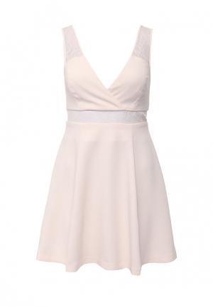 Платье BCBGeneration BC528EWHGC00. Цвет: розовый