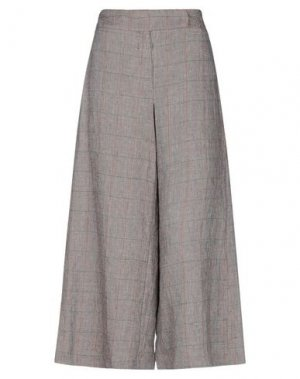 Повседневные брюки HACHE. Цвет: темно-коричневый