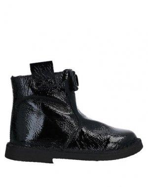 Полусапоги и высокие ботинки EUREKA. Цвет: черный