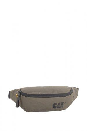 Сумка поясная Waist Bag Caterpillar. Цвет: бежевый