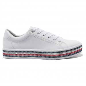 Кроссовки TOMMY JEWELED SNEAKER TommyHilfiger. Цвет: none