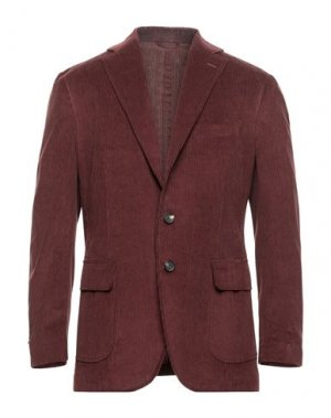 Пиджак DOPPIAA. Цвет: красно-коричневый
