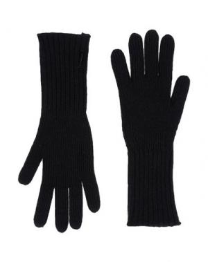 Перчатки BURBERRY LONDON. Цвет: черный