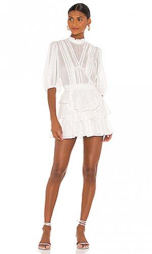 Платье carlotta IRO. Цвет: белый