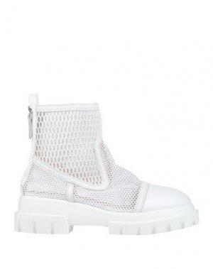 Полусапоги и высокие ботинки AGL. Цвет: белый