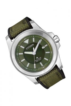 Наручные часы CITIZEN. Цвет: зеленый