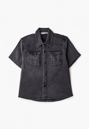 Рубашка джинсовая DeFacto. Цвет: серый