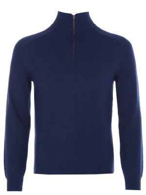 Кашемировый свитер на молнии DALMINE