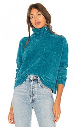 Пуловер geneva Lovers + Friends. Цвет: бирюзовый