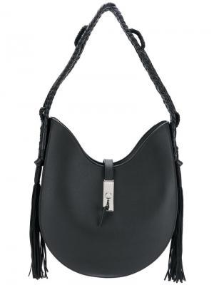Fringed sides detail shoulder bag Altuzarra
