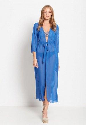 Платье пляжное Donatello Viorano Миконос. Цвет: голубой