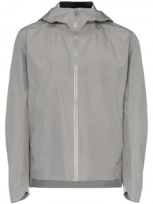 Легкая куртка Arris с капюшоном Arc'teryx Veilance. Цвет: серый
