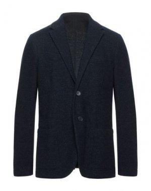 Пиджак HARRIS WHARF LONDON. Цвет: темно-синий