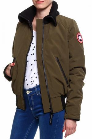 Куртка бомбер Canada Goose. Цвет: мультицвет