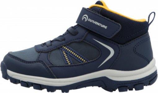 Ботинки для мальчиков Track Mid LK 2 B, размер 29 Outventure. Цвет: синий