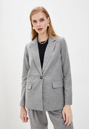 Пиджак Baon. Цвет: серый