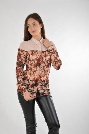 Блуза Extasy. Цвет: разноцветный