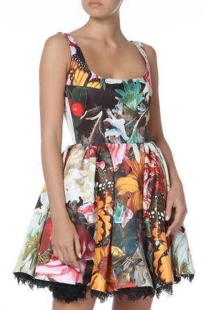 Платье Philipp Plein. Цвет: зеленый