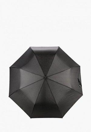 Зонт складной Lamoda. Цвет: черный