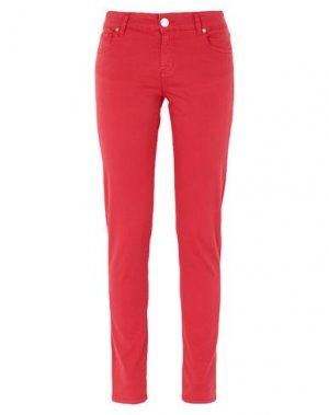 Повседневные брюки G.SEL. Цвет: красный