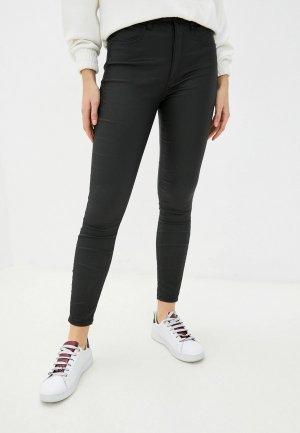 Джинсы Calvin Klein Jeans HIGH RISE SUPER SKINNY ANKLE. Цвет: черный