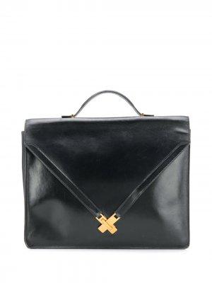 Портфель Skelly pre-owned Hermès. Цвет: черный