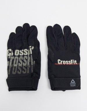 Черные перчатки Training-Черный Reebok