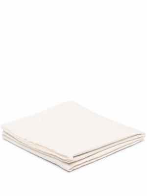 Frayed-edge linen tablecloth Brunello Cucinelli. Цвет: нейтральные цвета