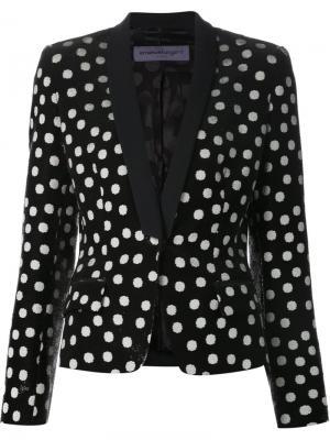 Куртки Emanuel Ungaro. Цвет: чёрный