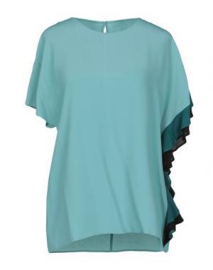 Блузка ANNARITA N. Цвет: светло-зеленый
