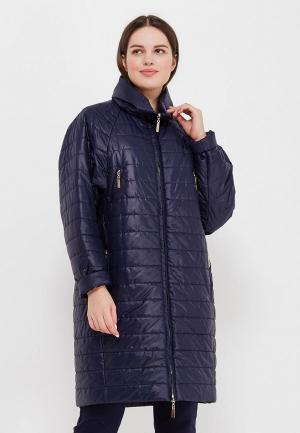 Куртка утепленная Doroteya. Цвет: синий