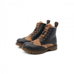 Кожаные ботинки Jarrett. Цвет: синий