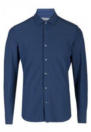 Рубашка CORNELIANI. Цвет: синий