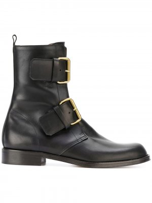 Ботинки с пряжками Michel Vivien. Цвет: черный
