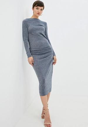 Платье Vivienne Westwood Anglomania. Цвет: серебряный