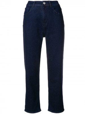 Укороченные брюки Hew Haikure. Цвет: синий