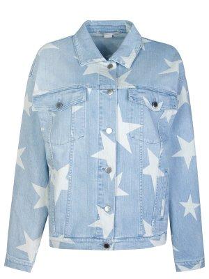 Джинсовая куртка Stella McCartney. Цвет: синий