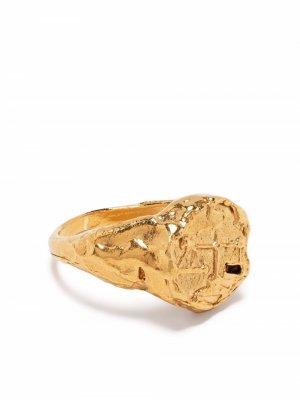 Перстень Libra Alighieri. Цвет: золотистый