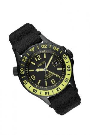 Часы наручные Fossil. Цвет: черный
