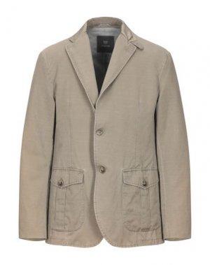 Пиджак MABRUN. Цвет: хаки