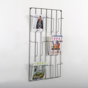 Подставка для журналов Niouz LA REDOUTE INTERIEURS. Цвет: черный
