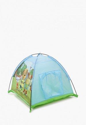 Палатка ЯиГрушка Барбоскины, 112х112х84 см. Цвет: разноцветный