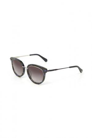 Очки солнцезащитные Enni Marco. Цвет: черный, синий, разноцветный