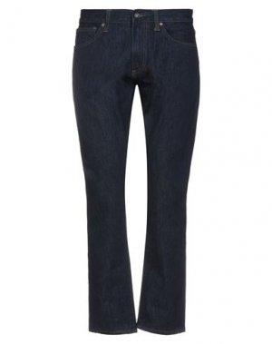 Джинсовые брюки RED FLEECE by BROOKS BROTHERS. Цвет: синий